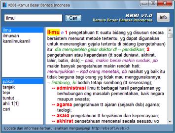 ensiklopedia kamus besar bahasa indonesia