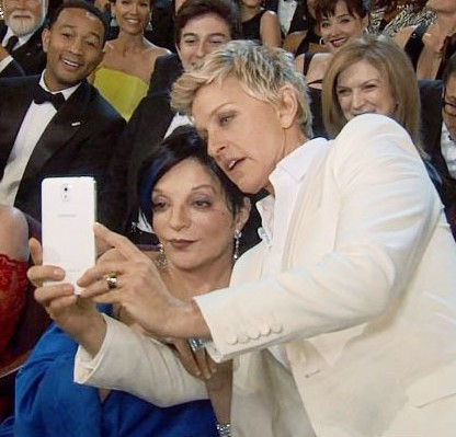 foto-selfie-Liza-Minnelli