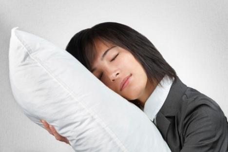 Tidur bawa bantal