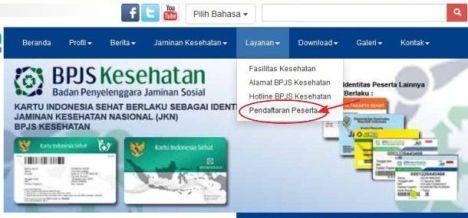 Tahap 1 : Pendaftaran Online BPJS