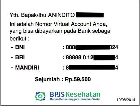 Tahap 6 : Melakukan Pembayaran BPJS