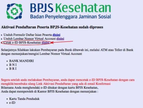 Tahap 7 : Mencetak Kartu BPJS